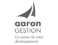 Logo entreprise AARON Gestion